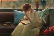 Art : The Art of Reading / by Cindy Hart