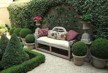 Gardens and outdoor spaces / by Angela Ridge