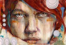 art / by Melissa Carolan Gouffray