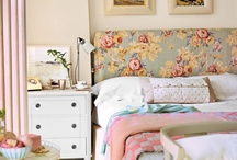 English Country Style / Inspiration board for bedroom makeover for Mom. / by Erin Knox Higgins