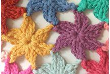crochet entrañable flores / by Mara MOCAYAR SAPOSNIX