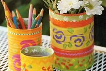 Can Cans & Jar Jars / DIY Projects Using Cans and Jars / by Laura Major@Learning Is Child's Play