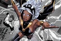 Eye of the Storm / Storm from X-Men / by Ben Stradley