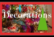 Christmas Tree Decorating / by Kathy Thompson