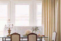 STYLE:  BANQUETTES / by Suzanne Dufault Design