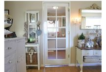 inspiring home makeovers/tours / by Kim Alexander