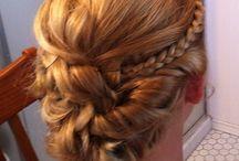Hoco hair / by Megan Jones