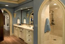 Master Bathroom / Master Bathroom Ideas for my next renovation.  / by Customized Walls - Custom Printed Wallpaper and Murals