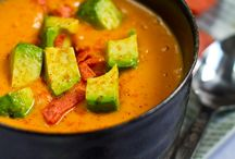 Healthy, Soups on / by Tammy Bolt Werthem