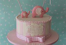 Baby/Pastel Fondant cakes / by La Tatin