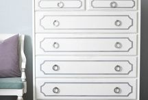 decor: furniture revival / updating dressers, desks, sidetables and more.. / by Annabeth Horsley