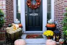 Fall decorating / by Judie DeWaard