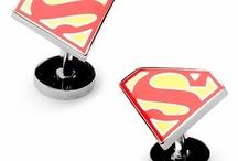 Superhero Cufflinks / by Cufflinks.com