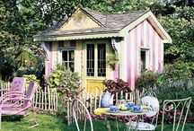 summer garden house / by Tami Curtis