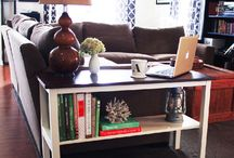 Home: Living Room / by A Little Bit Sassy