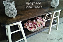 Upcyling Ideas / Ideas on how to upcycle anything not on my other upcycling boards. / by Marianne Mccarrick