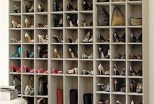 Walk in closet / by Tara Goldthorpe-