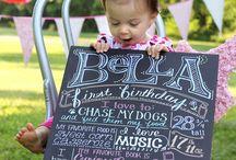 birthdays / by Kelsey Gensmer