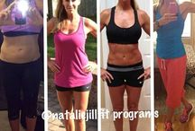 12 week super shred / by Natalie Jill Fitness