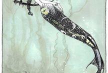Mermaids obsession / by HellCat Helena
