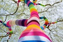 Yarn bombing / by Babukatorium