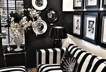 Black and White Decor / Inspiration drawn from black and white interiors / by Rare Paper