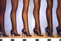 High heeled shoes / They make us suffer, but we always forgive them for this / by Martina Tabarranski