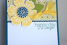 Stampin Up Blossom / Punches and stamps / by Sherry Downing