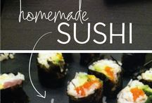 Sushi / by Kate Ighian