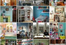 craft rooms / by Angela Brooks