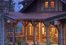 log cabins / by Jennifer Zimmerman