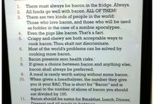 Bacon <3 / by Shaunna Molineux