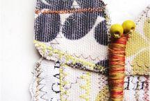 Art - Textiles, fibres, felting, Shibori etc / by Tiff Lance