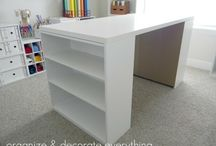 craft room / by Erica Brown