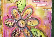 Art Journal - Flowers/Trees / by Sylvia