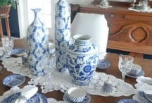 Blue & White Obsession / by Lesa Adams