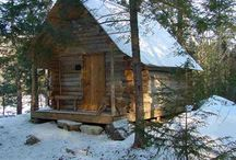 CABINS / by GOKO - Get Outdoors Knowledge Outfitting