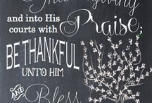 Giving Thanks / by Kim Broas