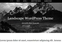 Design Freebies - Wordpress Themes / by Trevor Van As