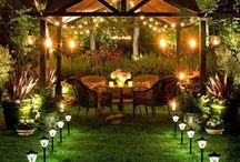 dreamOUTDOORS / outdoor living spaces & gardens / by Aitch·Em