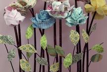 flores de tela / by Monica Cardemil