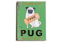puggles & pugs / by Ashleigh Cochran