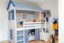 Ikea Kura bed / by Des Coeurs
