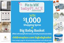 Pin to Win: babyPLACE Sweepstakes / by Amber Lynn