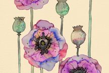 Watercolors / by Melissa Dugger