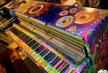 Furniture - Unusual, unconventional, painted, crazy, funky / by Helen Randall