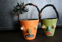 hallowe'enishness / goofy... funny... a little teensy bit creepy... not too scary / by Stephanie