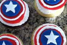 captian America Birthday / by Sara Zenger