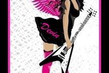 honkytonk angels / by Paulette Rees-denis