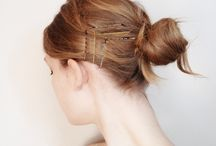 easy summer updo's / by Caitlin Cawley